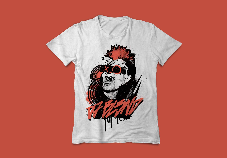 dj bl3nd tshirt
